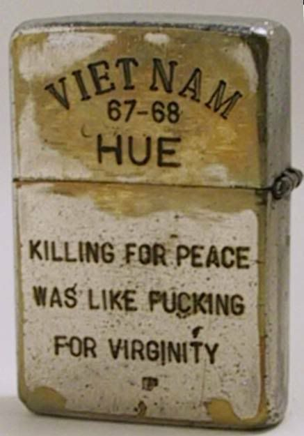 Killing for peace ---                                                                                                                                                      More