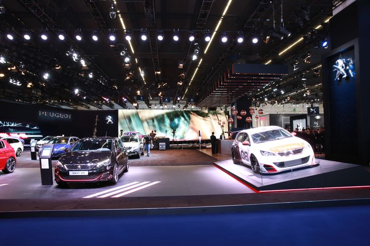 Visit the #Peugeot stand at the #IAA15 ! #motorshow