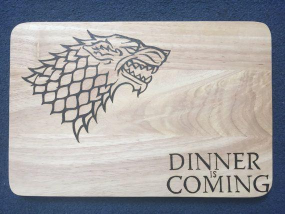 Game of Thrones Hand Burned House Stark by FrodoInWonderland