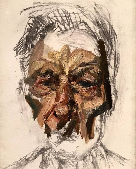 Lucian Freud, self-portrait on ArtStack #lucian-freud #art