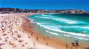 Sidney in tilt-shift