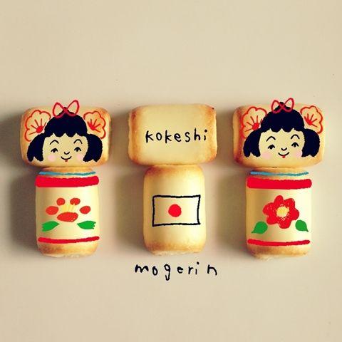 kokeshi sweets