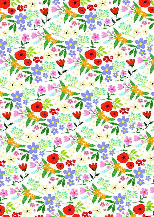 5 Sheets Of Flower Meadow Wrapping Paper Price: £6.95 Available - 02/06/2014 http://www.dotcomgiftshop.com/flower-meadow-wrapping-paper