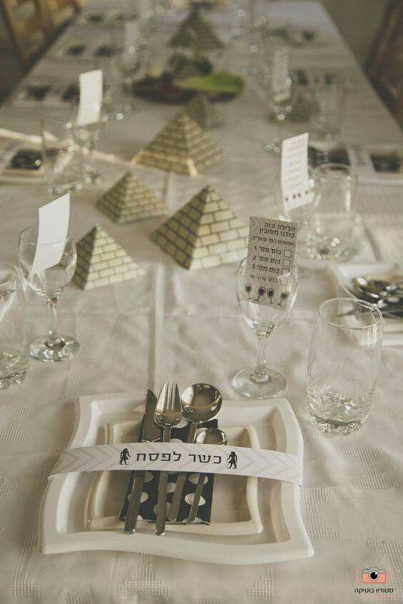 What an incredible way to use your Passover table to help tell the story!