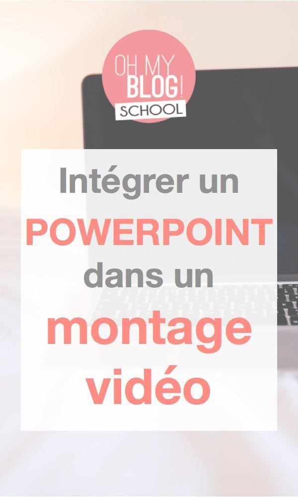 Voici quelques astuces pour intégrer une présentation powerpoint dans un montage vidéo ! _ _ _ Rejoins Blogschool.fr pour apprendre à créer, développer et monétiser ton blog autrement !