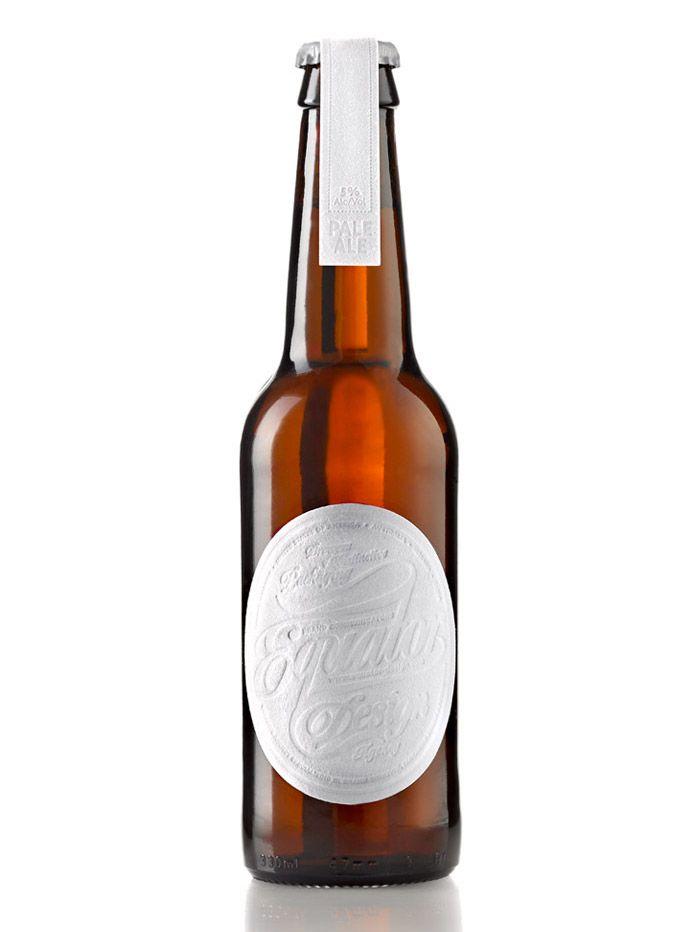 equator beer - love the blind emboss