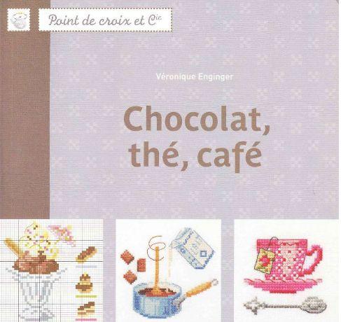 """Книга """"Кофе, шоколад, украшаем кухню"""". Вышивка крестом, схемы.. Обсуждение на LiveInternet - Российский Сервис Онлайн-Дневников"""