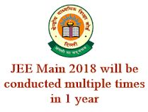 JEE or Joint Entrance examination is the most critical examination in India for getting admission in the best arranging schools. It is a fantasy for a couple of understudies who work dependably and sit for JEE Main exam. 	https://www.entrancezone.com/engineering/jee-main-2018/