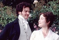 Colin Firth and Jennifer Ehle... Favorite version of Pride and Prejudice ever!