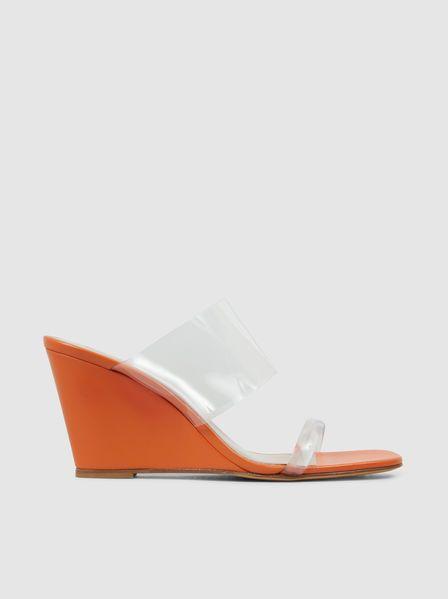 4b42686cde6 Maryam Nassir Zadeh - Olympia Perspex Wedge Sandals