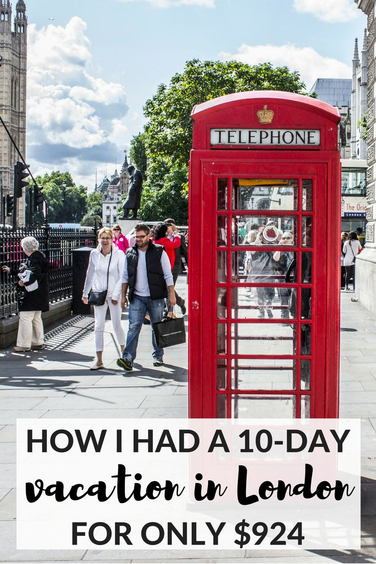 How I Had A 10day Vacation In London + Edinburgh For Only $924