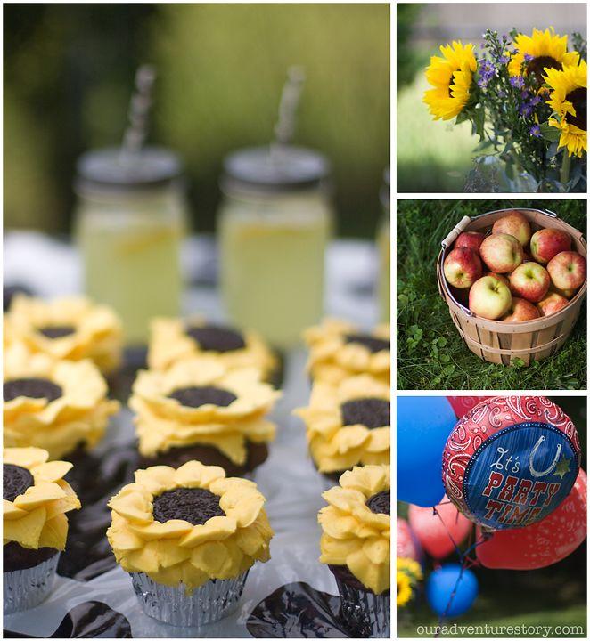 Sunflower Birthday Party