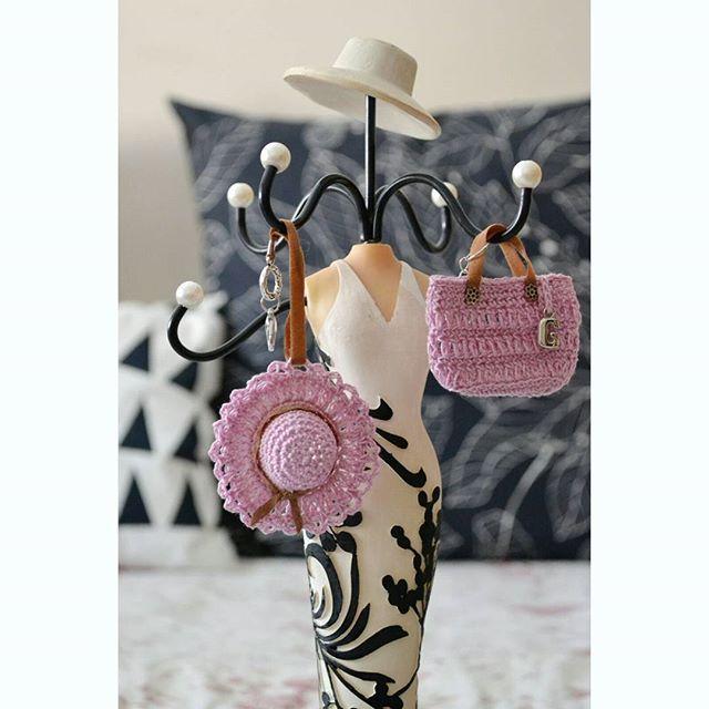 Bag and hat crochet