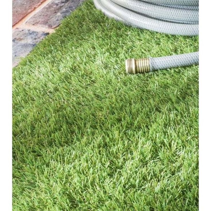 nuloom 5u0027 x 8u0027 artificial grass rug in green