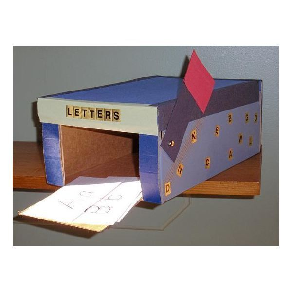 MailboxCraft - I could make this and kids could put their stories in here - choose one each day or week to read during circle time