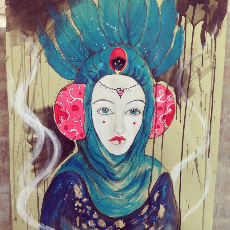 Padme inspiration - autore Anna Agati https://www.facebook.com/Anna-Agati-artista-1433595330247813/