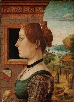 "Ginevra d'Antonio Lupari Gozzadini ""1485-1495"" (attrib. Maestro delle Storie del Pane)  Metropolitan Museum of Art, NYC   (1975.1. 96)"