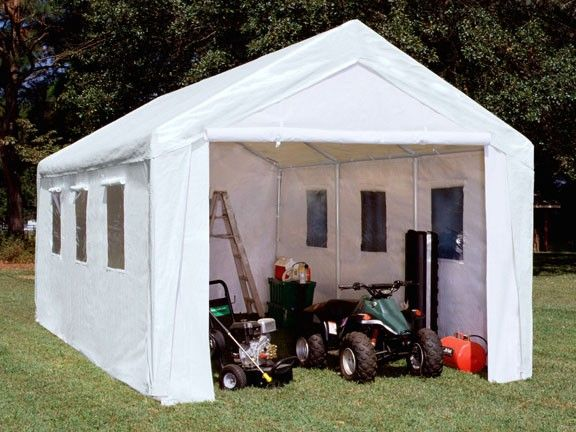 10u0027 X 20u0027 Enclosed Canopy with Windows $551.95 sale price & 31 best canopy covers images on Pinterest | Canopies Canopy cover ...