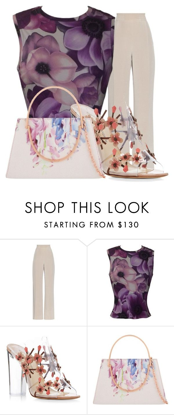 """Primavera con Stile..."" by simona-norfini on Polyvore featuring MaxMara, Versace, Paul Andrew and Ted Baker"