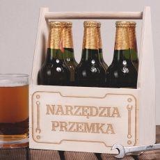 Personalizowane nosidło na piwo NARZĘDZIA idealny na urodziny