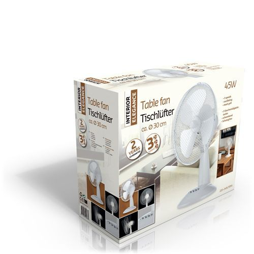 Tafelventilator - Wit #koeling #ventilator #tafelventilator