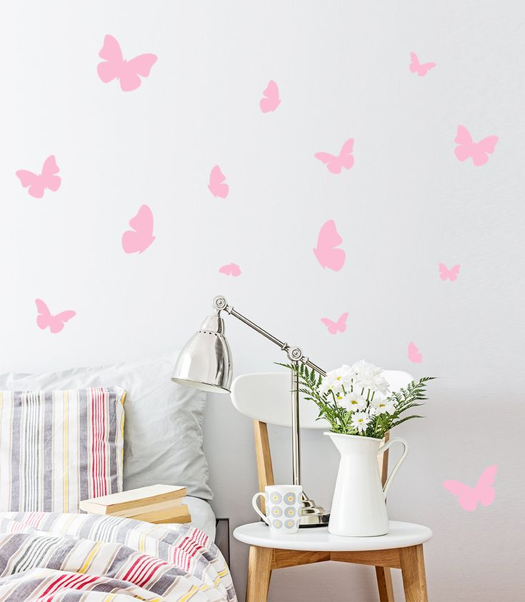 Best Butterfly Wall Stickers Ideas On Pinterest Butterfly - Vinyl wall decals butterflies