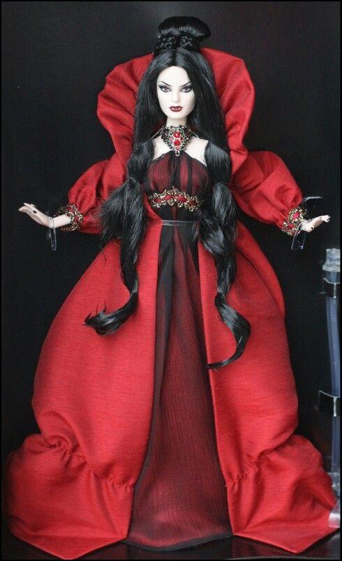 Vampire Barbie...