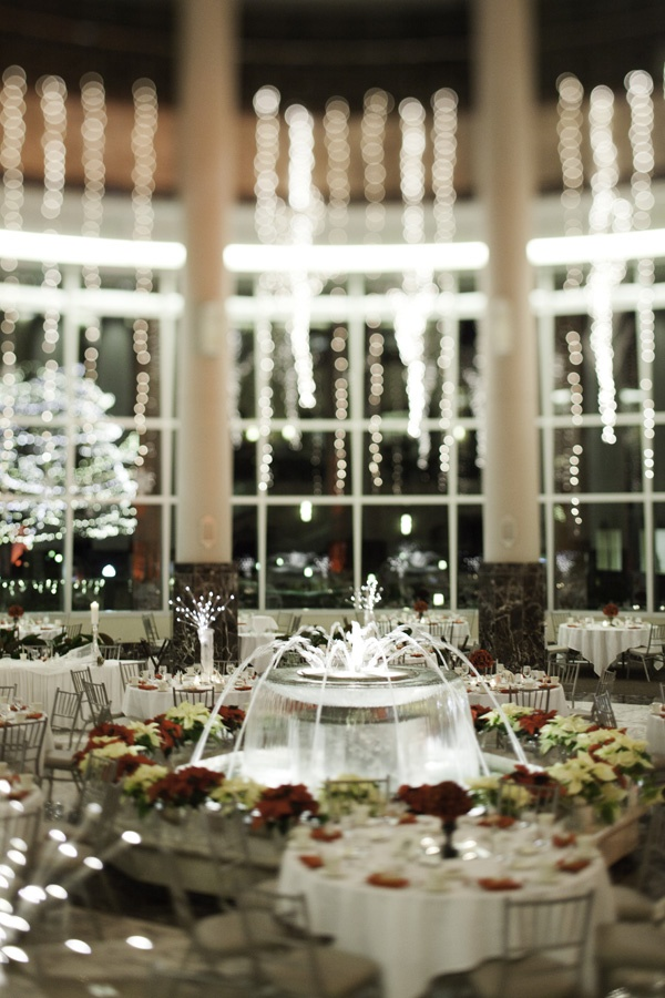 Carlson Towers Rotunda winter wedding in Minnetonka