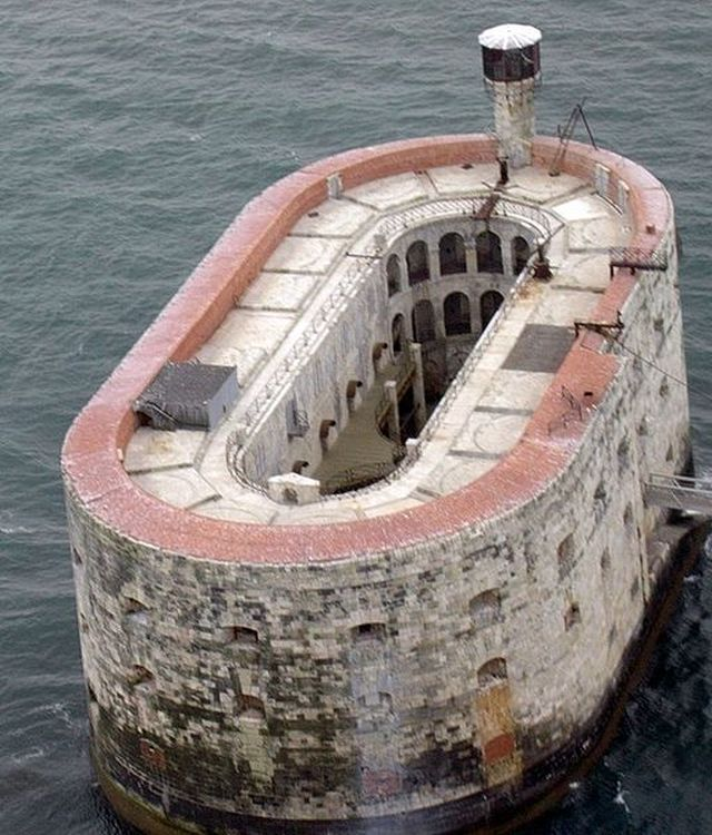 Fort Boyard, France - The storms that raged off the coast of France meant that they were working in perpetually dangerous conditions, and by the time it was built, it was already obsolete. New weapons technologies meant that the fort had outlived its usefulness before it was ever completed in 1859.