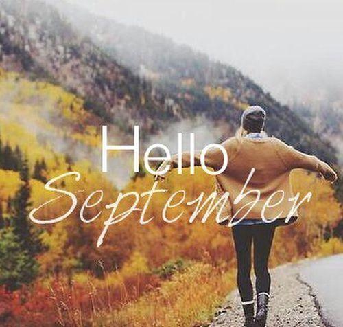 Ciao settembre.