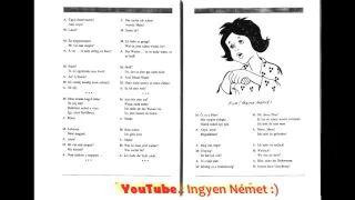 Német Magyar Lecke 3. - YouTube