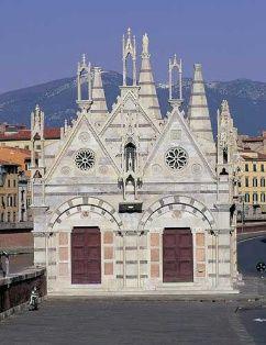 La storia fantastica della #Chiesa di Santa Maria della Spina. #Pisa #Lungarno