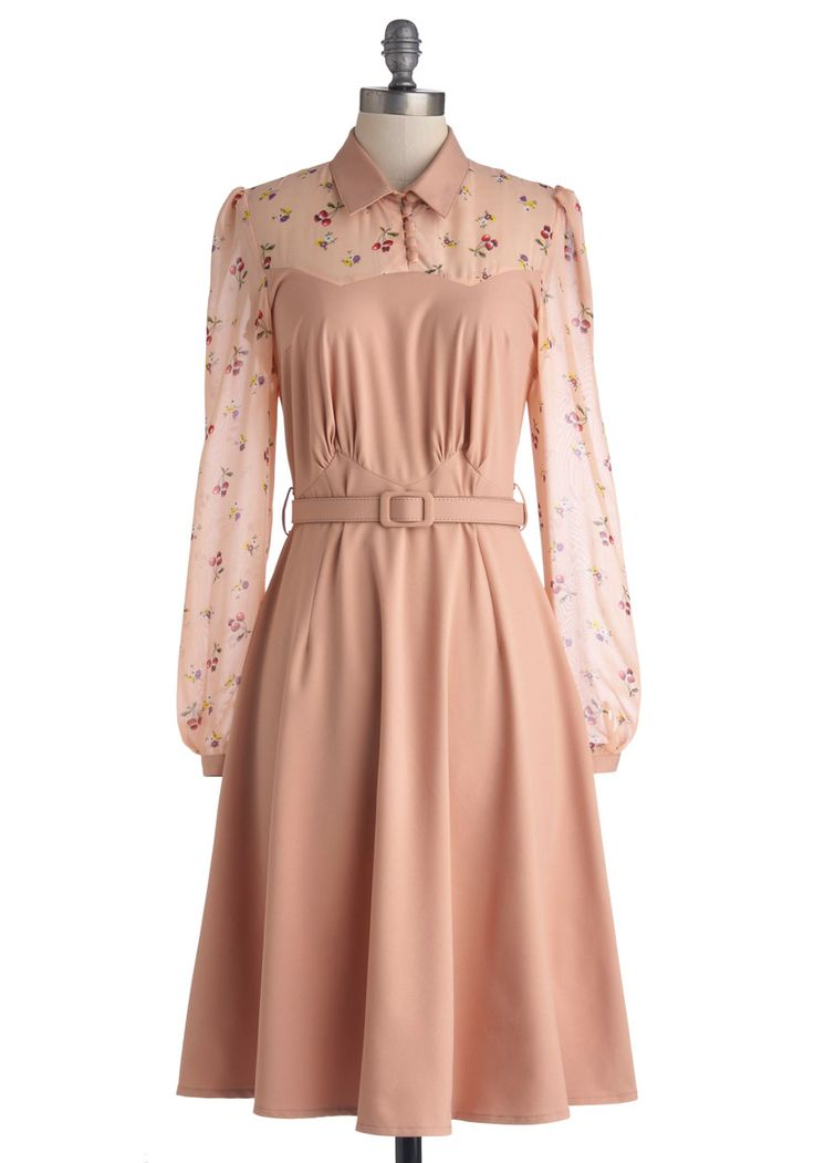 Cheery Cordial Dress, #ModCloth  A Spring to summer dress that can go from the office to down town shopping.