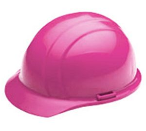Charm and Hammer:Made in USA Hi Vis Vibrant Hot Pink Hard Hat