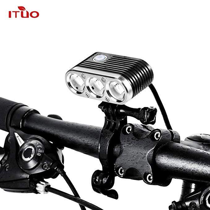 Ituo Led Bicycle Headlight 2300 Lumen Bike Front Light