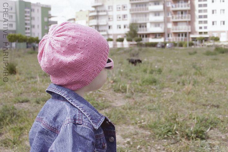 Majowa czapka | Creative Paruparo | druty, szydełko, DIY