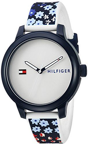 Tommy Hilfiger Womens EVERYDAY SPORT Quartz Resin and Silicone Casual Watch ColorBlue Model 1781778 * Find out more about the great product at the image link.