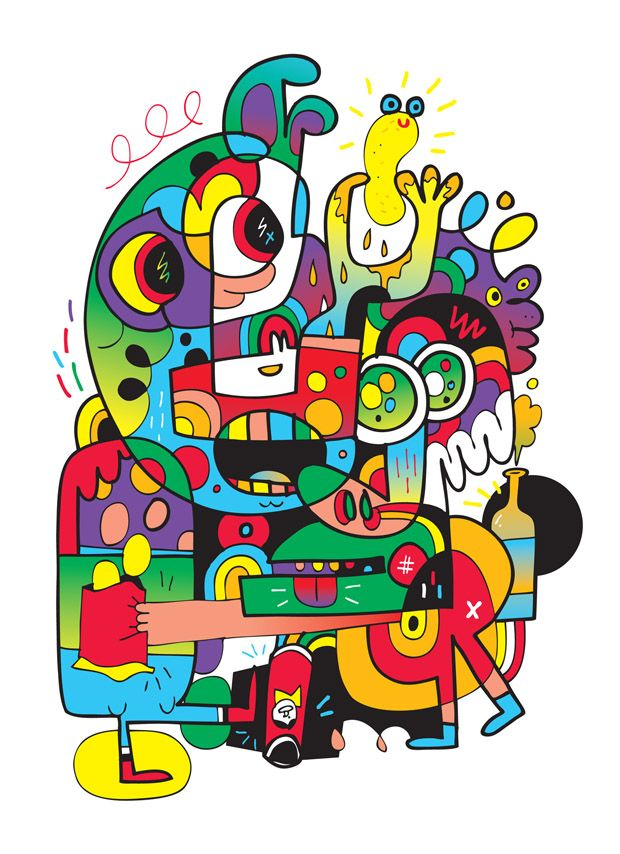 1000 Images About Abstract Contour Drawings On Pinterest