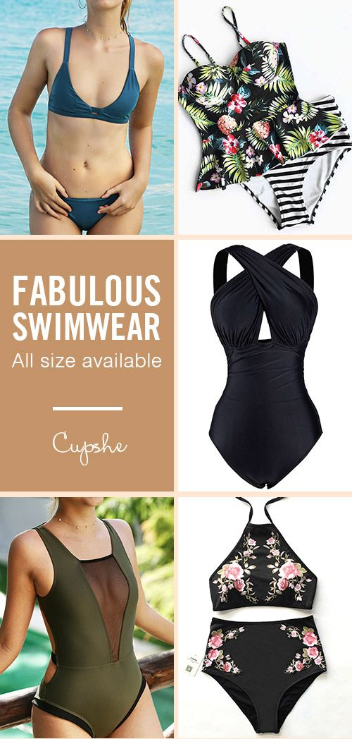 Cheers to the weekend! More sun. More fun. Cupshe special selected fabulous swimsuits for you! All size available, come and find the hottest styles of the season at amazing prices!