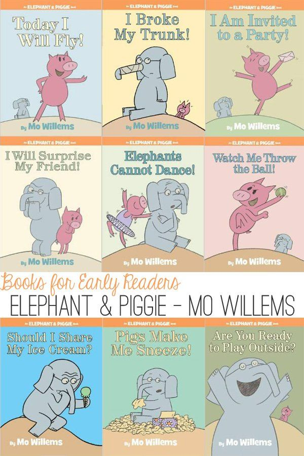 The humour, carefully scripted text and comic book, conversational style make the Elephant & Piggie series a fabulous beginning reader series.