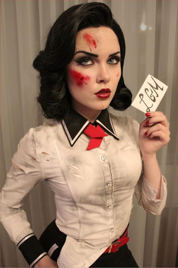 elizabeth bioshock infinite cosplay by ilona bugaeva