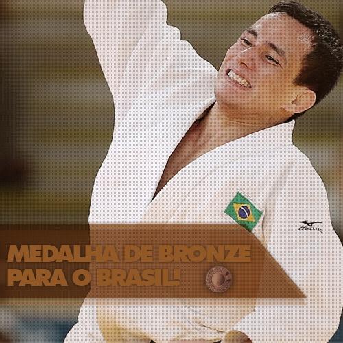 A primeira medalha do Brasil em Londres veio do judô, com Felipe Kitadai