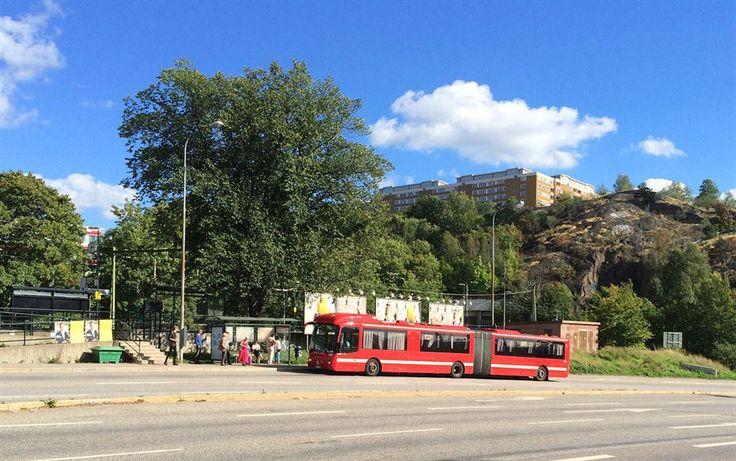 Nära till bussar och Saltsjöbanan