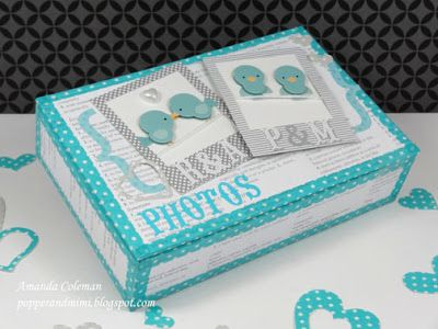 Photo Love Storage Box Ideas