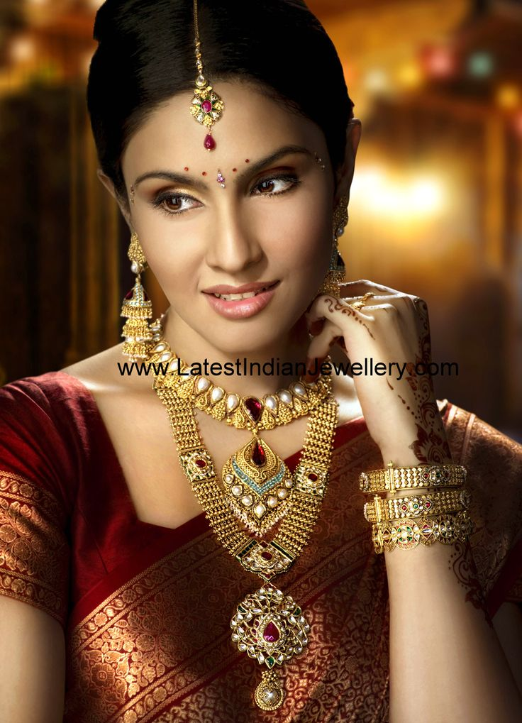 Beautiful Complete Antique Gold Jewellery Set from Vummidi Jewellers(VBJ) | Latest Indian Jewellery Designs