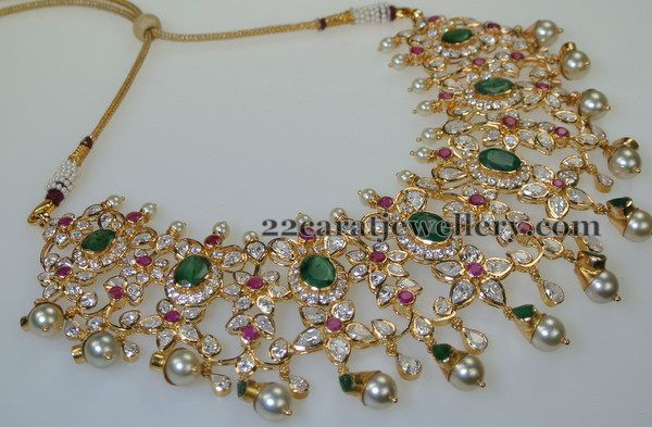 Pachi Necklace by Swarna Sri Jewellers | Jewellery Designs