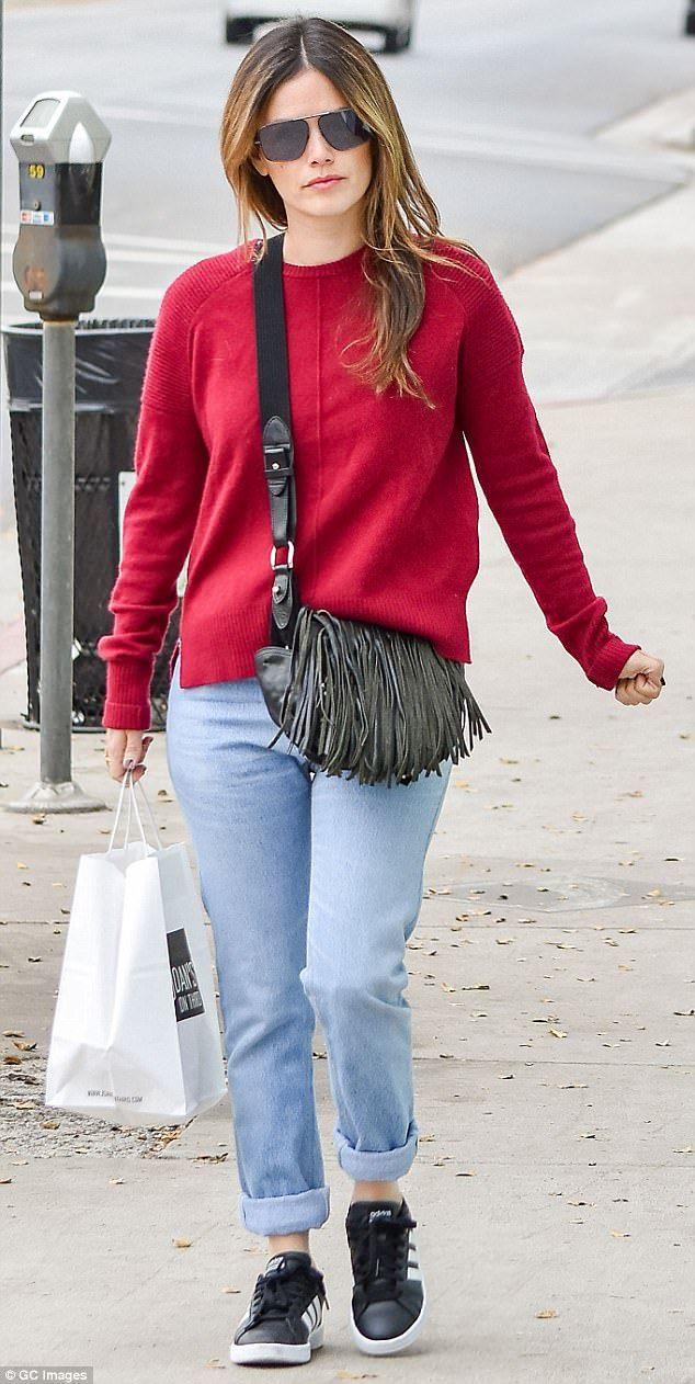 Hayden Christensen's ex Rachel Bilson grabs a bite in LA | Daily Mail Online