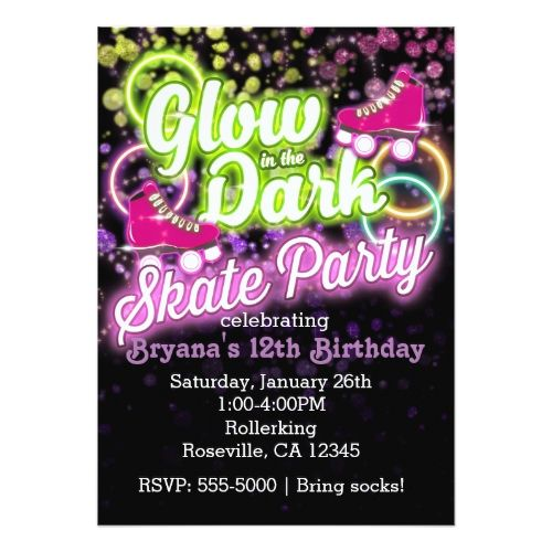 Best 25 Skate party ideas – Free Printable Roller Skating Party Invitations