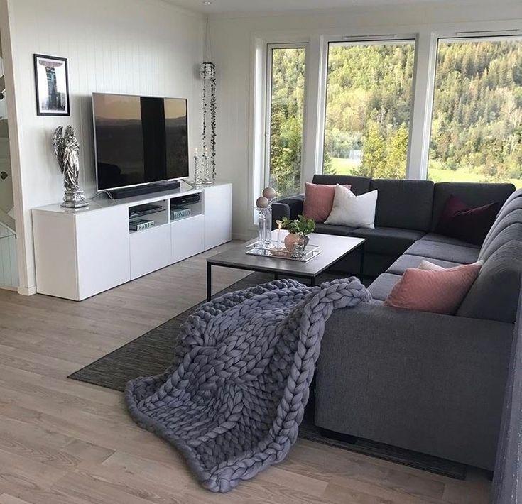 Dies ist Wohnzimmer Ziele Ich liebe die großen Decken vom Boden bis zum Fenster… #wohnzimmer