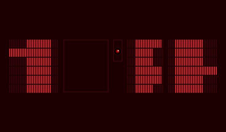 Image result for hal 9000 room